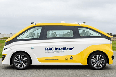 Australia's first on-demand, automated vehicle arrives in Perth