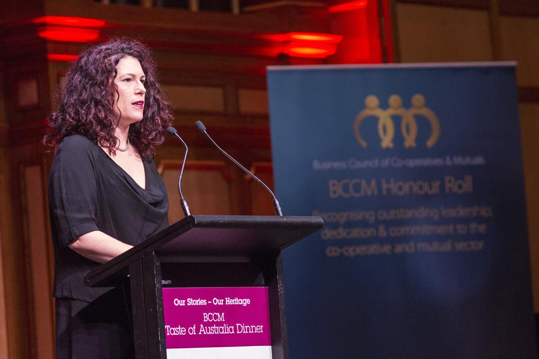 Dr Rebecca Huntel's 2018 BCCM Taste of Australia Dinner keynote address