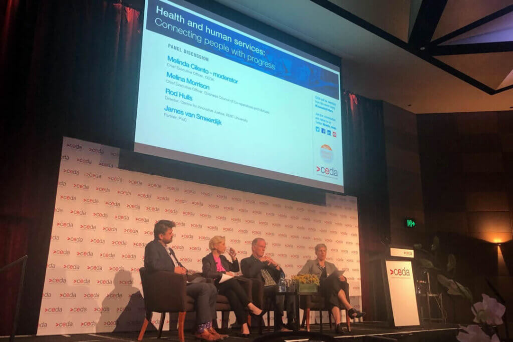 CEDA event looks at role of co-operatives and mutuals in critical services