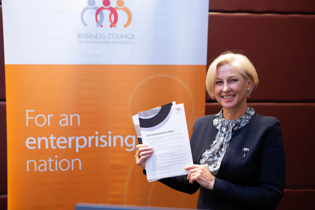 BCCM CEO Melina Morrison announces three point plan to make Australia an enterprising nation