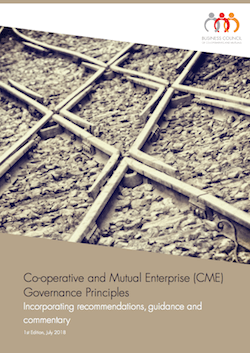 Co-operative and Mutual Enterprise (CME) Governance Principles