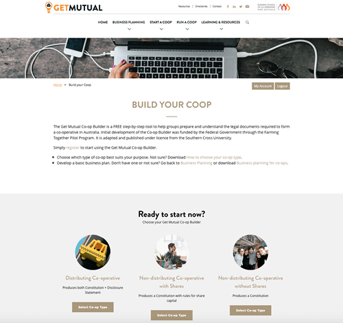 Get Mutual website