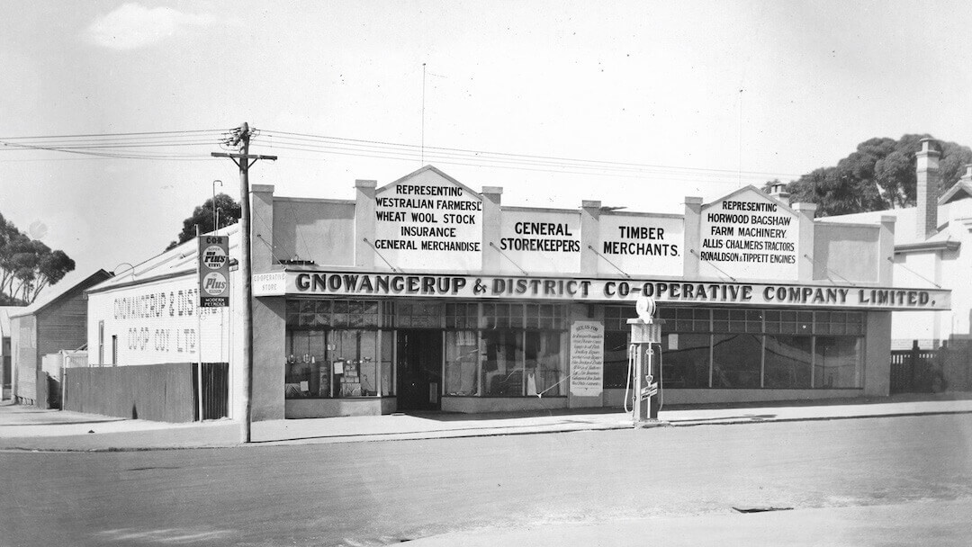 Gnowangerup Co-op Store 1920s