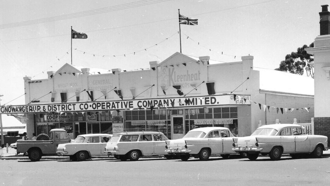 Gnowangerup Old Co-op Store 1965