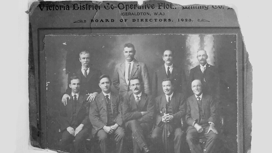 Victoria District Co-op Flour Mill Co Geraldton 1923