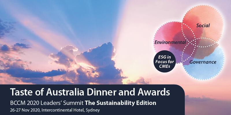 2020 BCCM Taste of Australia Industry Dinner and Honour Roll