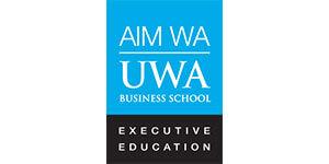AIM WA UWA Business School Executive Education logo