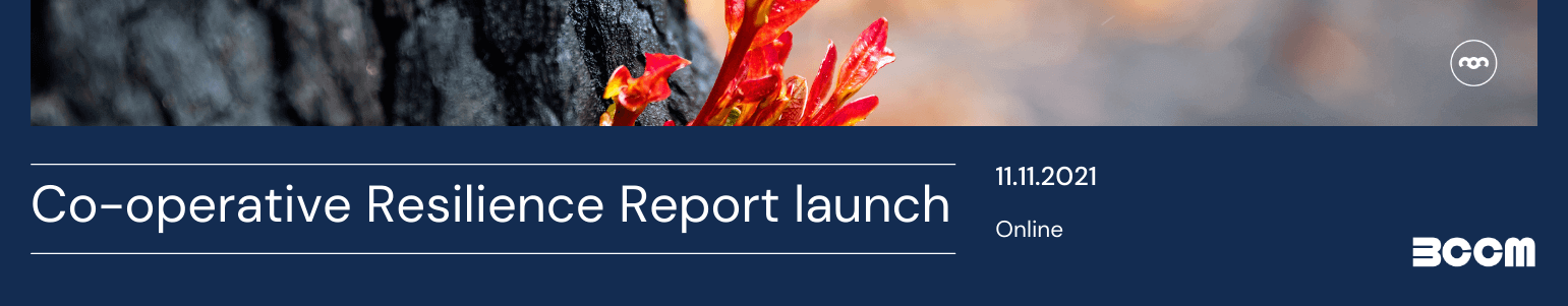 Primary Producer Co-operatives: Community resilience report launch